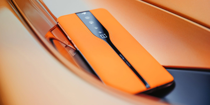 """OnePlus presented McLaren-inspired Concept One phone with """"disappearing"""" camera"""
