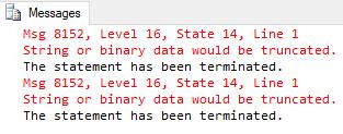 Solusi Terbaik Untuk Mengatasi String or binary data would be truncated