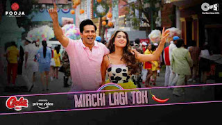 Mirchi Lagi Toh Lyrics in English Coolie No 1