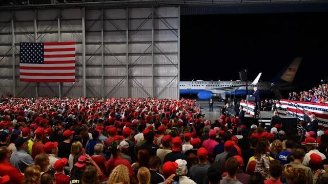 Trump hace campaña: ¡Voten a republicanos o EEUU será invadido!