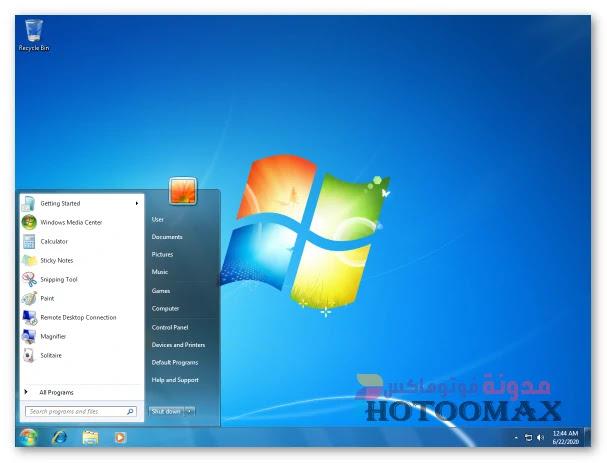ويندوز 7 Ultimate  تحديث مارس 2020 للنواتين Sp1 x86 x64 Windows 7