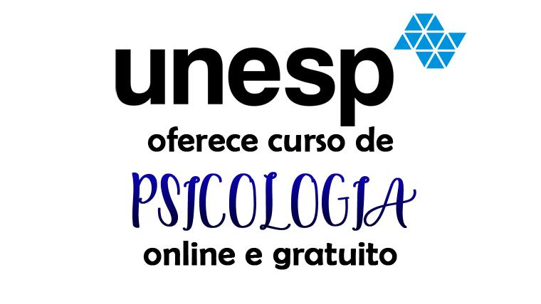Unesp oferece curso de Psicologia online e gratuito