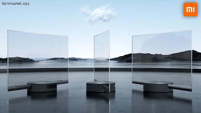 شاشات التلفاز الشفافة