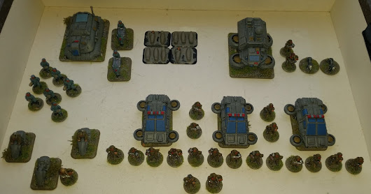 From FranL - 15mm Sci-Fi Paramilitary Police (146 Points)