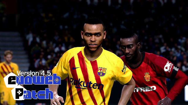 PES 2020 EvoWeb Patch 4.5 For eFootball