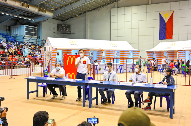 McDonald's Philippines partners with NTF for free COVID-19 testing of crew, managers