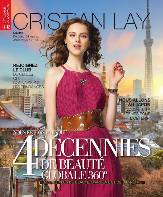 catalogue cristian lay maroc mai juin 2019