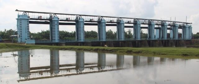 Obyek Wisata Baru Pintu Pembagi Banjir Wilalung, Dibangun Pemerintah Belanda 1908-1916