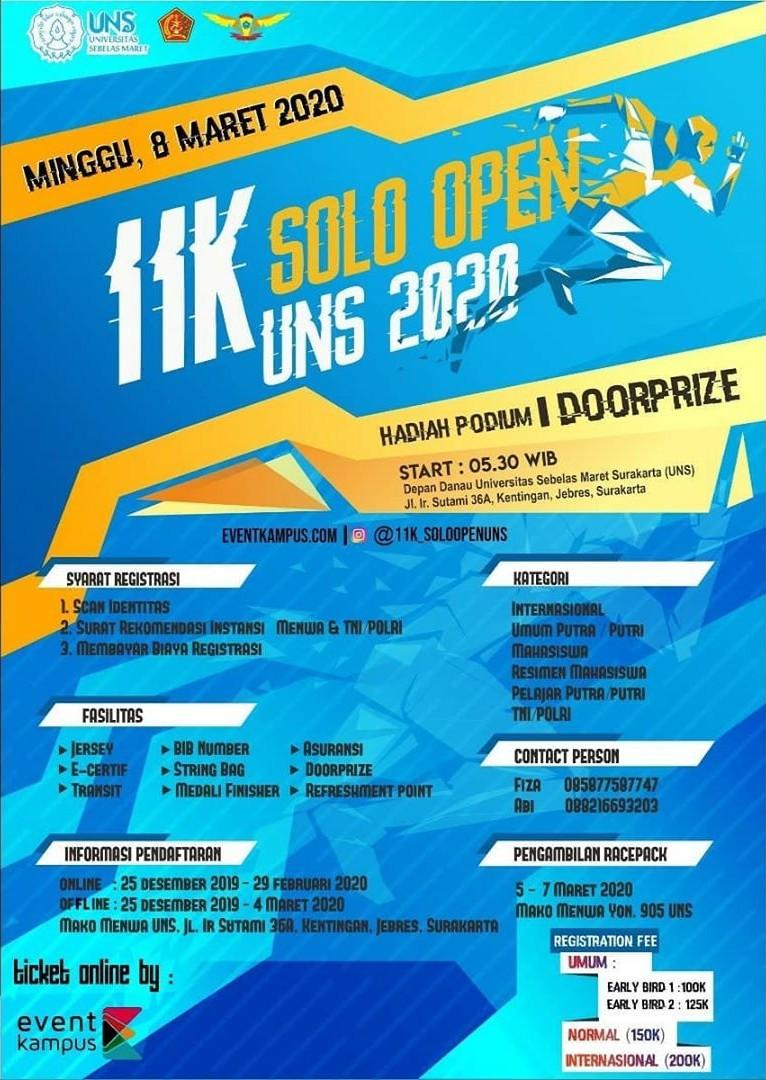 11K Solo Open UNS • 2020
