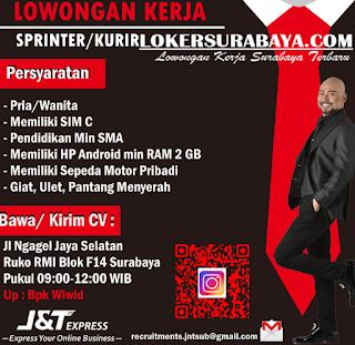 Karir Surabaya Terbaru di J&T Express Juni 2019