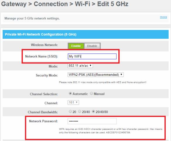 xfinity router login ip