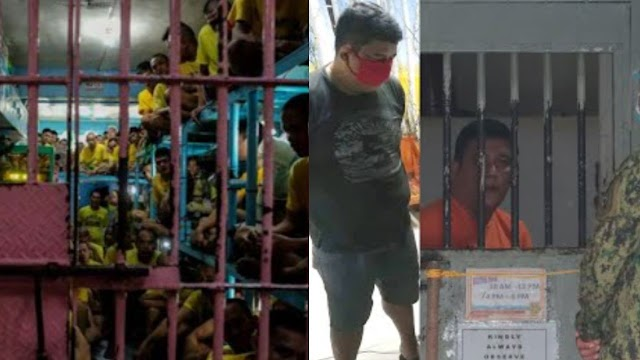 Mga Preso Sa Tarlac, Inasar At Kinantahan Ang Pulis Na Si Jonel Nuezca