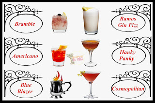 50 recetas de cócteles famosos