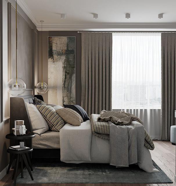 Thiết kế và thi công hoàn thiện nội thất căn hộ chung cư Velona Quận 2 - Phòng Master