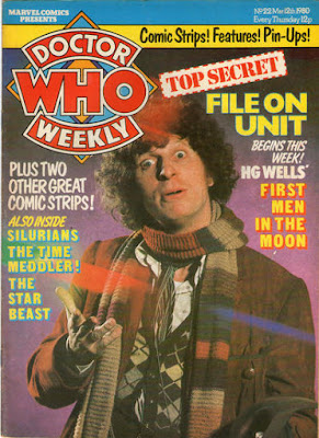 Doctor Who Weekly #22, Tom Baker