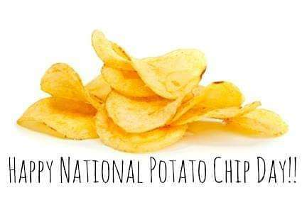 National Potato Chip Day Wishes Sweet Images