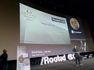 RootedCon 2019 - David Pérez y José Picó - Seguridad 5G