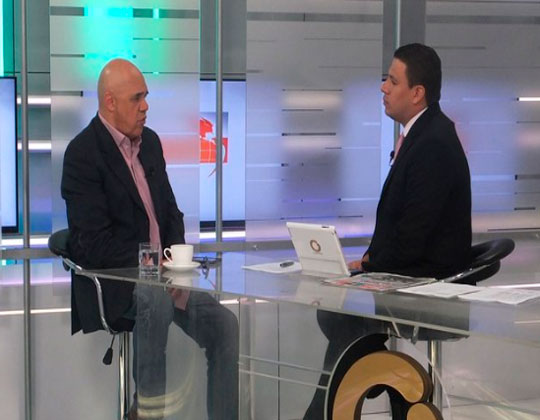 Jesús Torrealba: El Gobierno no tiene respaldo dentro ni fuera del país