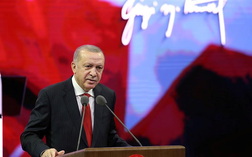 Ερντογάν: Όσοι μας απειλούν με κυρώσεις, στο τέλος θα απογοητευτούν