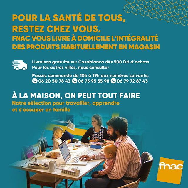 catalogue fnac maroc mars avril 2020