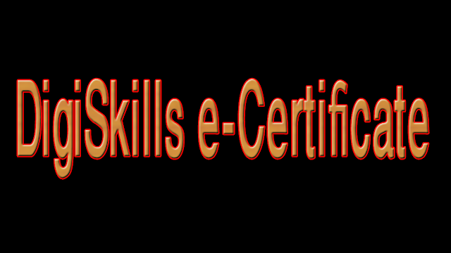 how to download digiskills certificate
