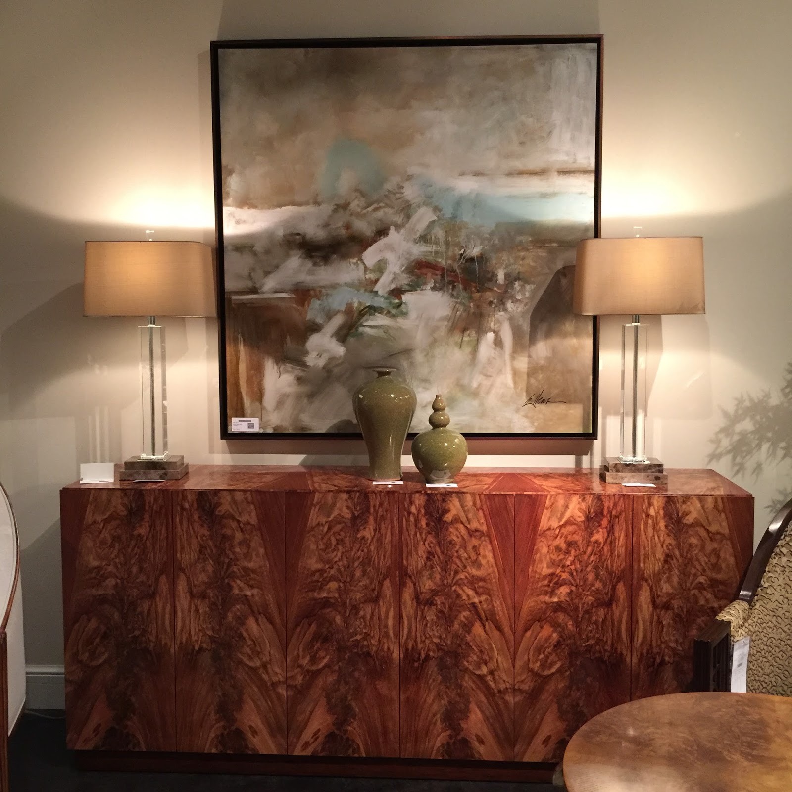 Is This The Same High Point Furniture Market: Lisa Mende Design: John Richard Collection