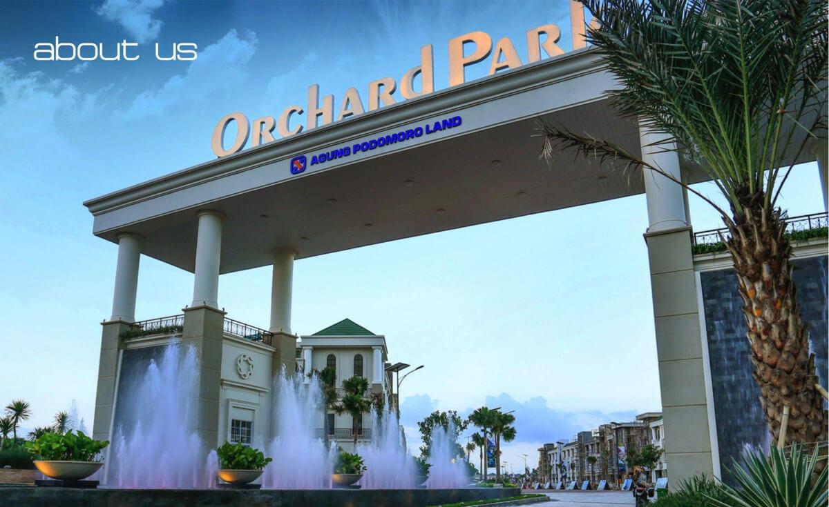 Gerbang Orchard Park Batam