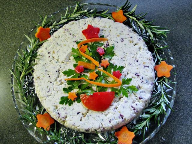 Veggie Tree on Cheese Mold