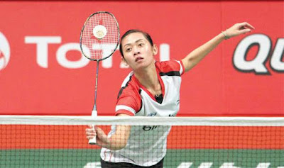 Perempat Final Turnamen Badminton Bitburger Open 2015