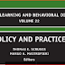 Advance in learning and behavioral disarbilities  Thomas E. Scruggs and Margo A. Mastropieri