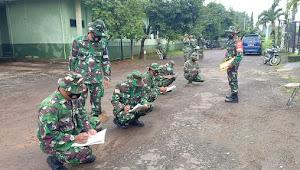 Tingkatkan Kemampuan Prajurit, Kodim Pekalongan Gelar UTP Umum