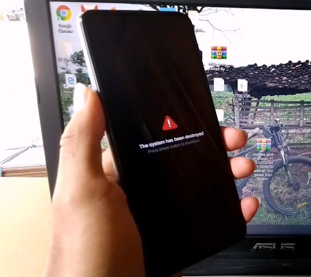 Solusi Redmi Note 9 Pro Joyeuse Brick Mati / System Has Been Destroyed Via Remote Online