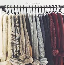 set of sweaters