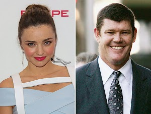 Couple: Miranda Kerr is in secret relationship with billionaire James Packer of Australia