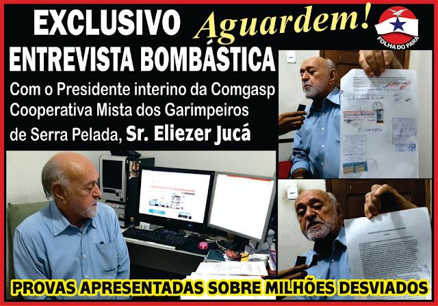 AGUARDEM! EMTREVISTA EXCLUSIVA COM O PRESIDENTE INTERINO DA COMGASP - SR. ELIEZER JUCÁ