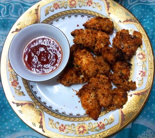 YUMMY TUMMY: Baked Chicken Nuggets Recipe
