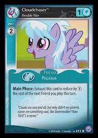 My Little Pony Cloudchaser, Flexible Flier Premiere CCG Card