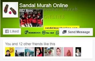 sandal murah online