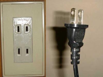 Instalaciones eléctricas residenciales - Enchufe tipo A