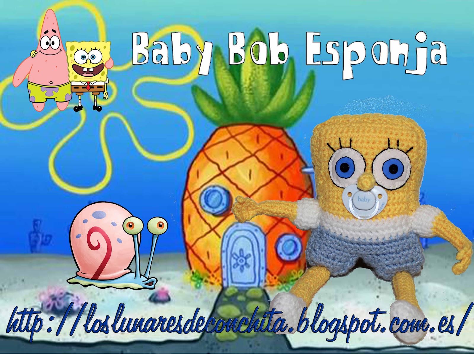 Bob Esponja Sonriente: Los Lunares De Conchita: Para Miguel......Bob Esponja Bebé