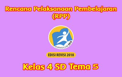 download rpp kelas 4 tema 5 pahlawanku 2019 2020
