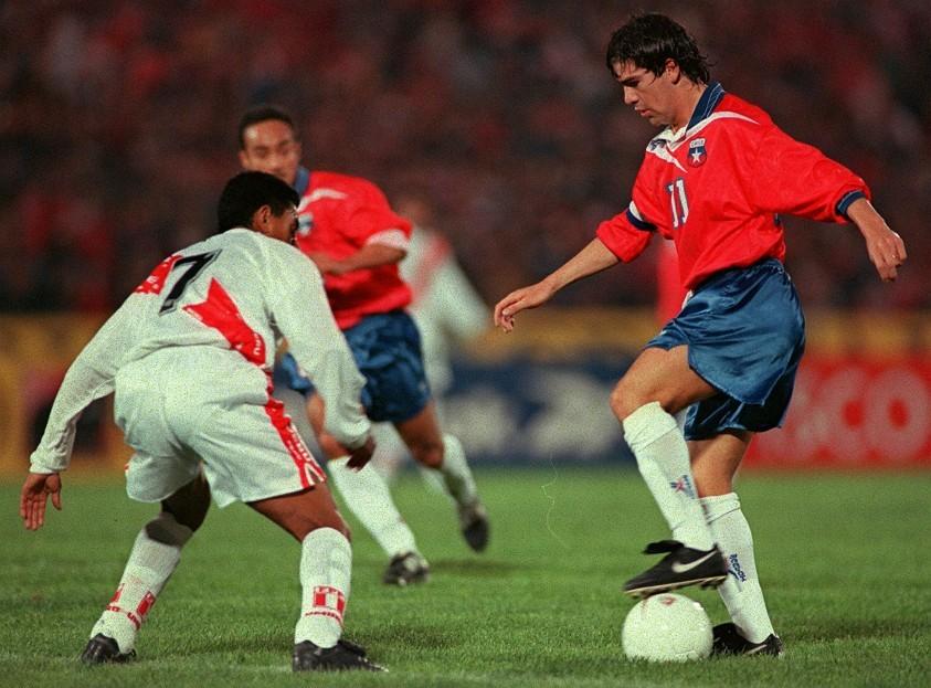 Chile y Perú en Clasificatorias a Francia 1998, 12 de octubre de 1997