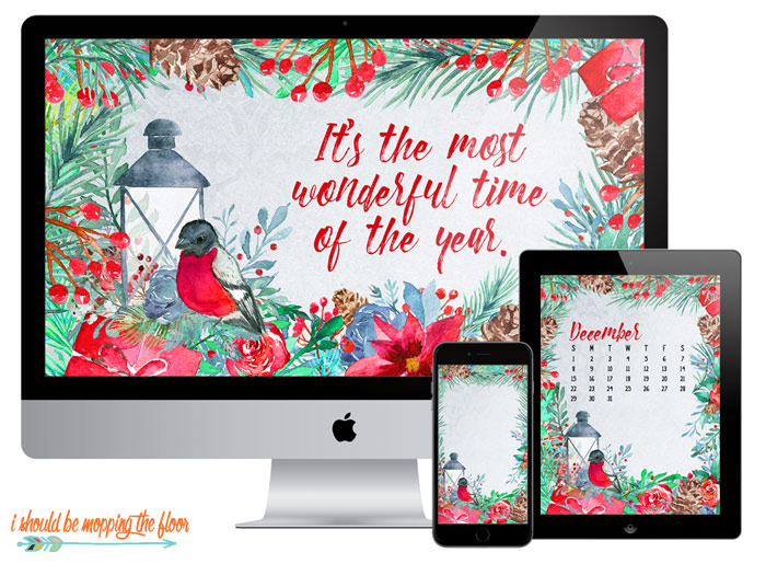Christmas Desktop Calendars