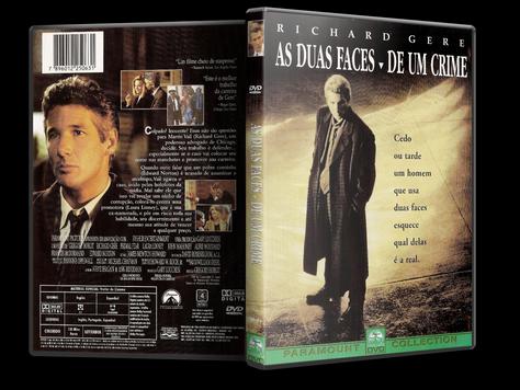 Capa DVD As Duas Faces de Um Crime
