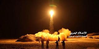 Allahu Akbar! Koalisi Arab Hancurkan Enam Rudal Syiah yang Ditembakkan ke Arah Jazan