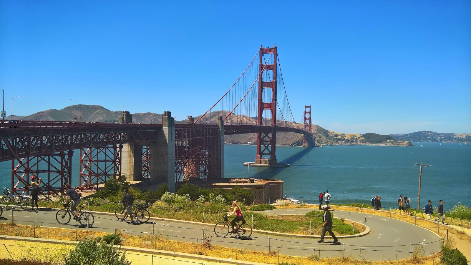 san francisco kalifornia golden gate bridge silta mallaspulla matkailu matkajuttu