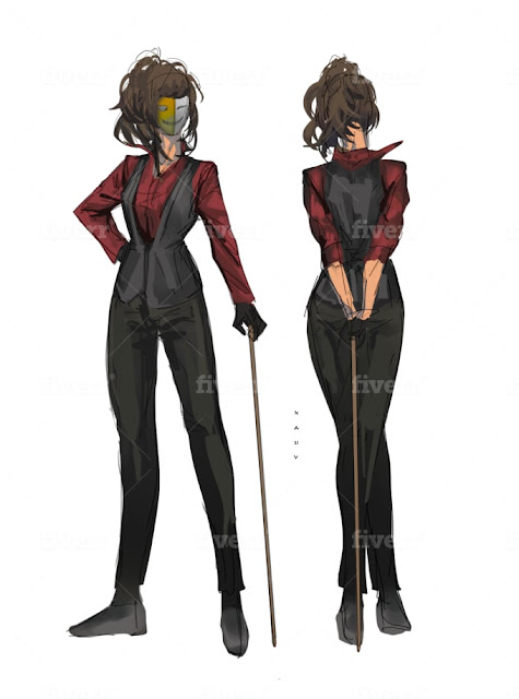 Create concept art for your character - Game Design - Character Design