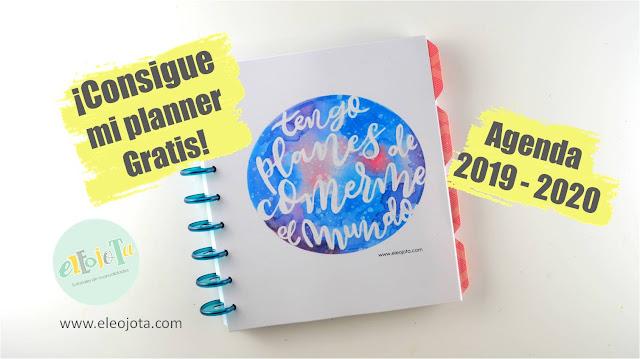 agenda planner 2019 2020
