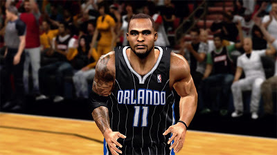 NBA 2K13 Glen Davis Cyberface Mod