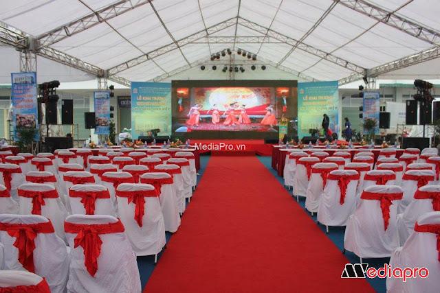 Địa chỉ cho thuê phông bạt tổ chức sự kiện tại Hà Nội